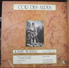 JOZSEF MOLNAR COR DES ALPES GATEFOLD COVER  FRENCH LP AXES3