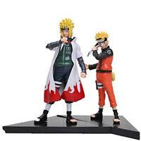 Uzumaki Naruto & Minato Namikaze Shippuden Figures Anime 2 Pcs Toys Gift Set