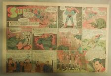 Superman Sunday Page #197 by Siegel & Shuster from 8/8/1943 Half Page:Year #4!