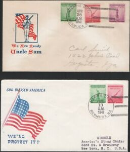 U.S., 1941. Patriotic Cover WWII Marine Detachment, Bermuda Br. (2)