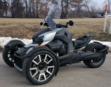 "NEW 2019 Can Am Spyder RYKER 18.5"" Clear Sport WIndshield Custom Made in USA"