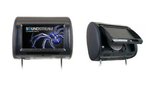 """Soundstream VH-90CC 9"""" Pair Headrests acPkage One Side with DVD NEW!"""