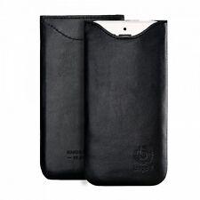 bugatti Ledertasche Tasche Leder Etui SlimFit Schwarz Apple iPhone 7 Plus 6 Plus
