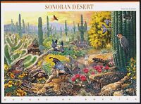 1999 SONORAN DESERT 1st Nature of America Series, Mint Sheet 10 33¢ Stamps #3293