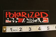 QUIKSILVER Polarized Shades Quicksliver Hawaii Vintage Surfing Decal Tag STICKER
