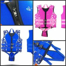 New Kids Life Jacket Kayak Ski Buoyancy Aid Vest Sailing Fishing Watersport UK