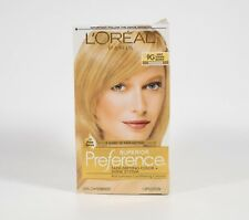 Loreal Paris Superior Preference Permanent Hair Color #9G LIGHT GOLDEN BLONDE