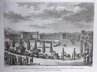 Fête des Beaux Arts 1798 Chevaux Place Saint Marc Venise Italie Muséum Statue