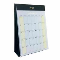 2021 Mensual Escritorio Calendario Premium Autónomo Vista Mensual Agenda 3958