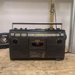 Hitachi TRK-5190ER Portable Stereo Radio SW FM Cassette Player Boombox