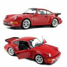 1 18 Solido Porsche 911 (964) Turbo 3.6 Rouge Indien 1990