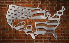 Usa Map / Flag with Ar15