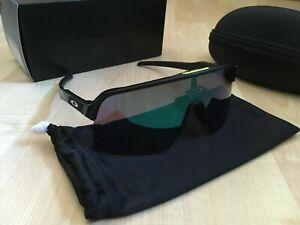 Oakley Sutro Lite Brille Matte Black/Road Jade OO9463-0339