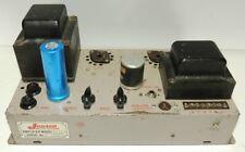 Jensen Tube Amplifier Model A24 6L6 Push Pull Amp 220V AC Line Voltage