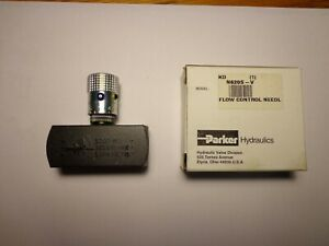 Parker N620S Steel Hydraulic Flow Control Needle Valve 5000 PSI 5 Gallons/minute