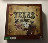 Texas Shake 'Em Dice Game New Sealed Poker Betting Strategy Ante Shaker Chips