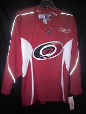 Carolina Hurricanes Reebok Medium Red Replica Jersey NWT NHL Faulk Rask Skinner