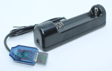 USB Charger for 18650 3.7V Li-ion Battery Brand New Portable USB Charger