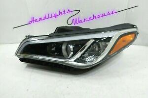 GENUINE OEM | 2015-2017 Hyundai Sonata Halogen Headlight (Left/Driver)
