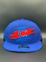 Chicago Cubs New Era Logo Tear C1 9FIFTY Snapback Original Fit - Royal