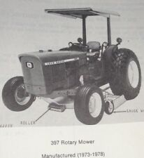 John Deere 397 Rotary Mower Parts Catalog Manual mid mount tractor mounted JD