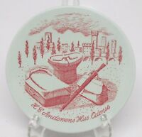 Nymolle Art Faience Hoyrup - Andersen Souvenir Pin Trinket Dish 4001-197 Denmark