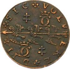 O3541 RARE Jeton Duché Lorraine Charles III Grand Duc 1572 Trois alérions TTB++