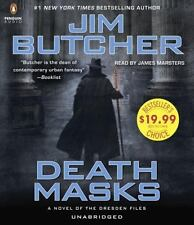 Dresden Files: Death Masks by Jim Butcher (2015, CD, Unabridged)