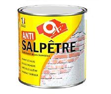 TRAITEMENT ANTI SALPETRE MUR HUMIDE OXI 2.5L assainit consolide murs dégradés