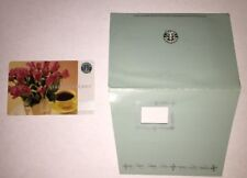 Starbucks 2003 Old Logo Roses Mother's Day Card W/ Sleeve