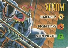 OVERPOWER Venom Original 3-stat OP HERO - Rare - Marvel