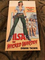 Ilsa The Wicked Warden * VHS CIC Canada