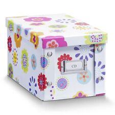 """2er SET ZELLER CD-BOX """"Kids"""" CD BOX AUFBEWAHRUNGSBOX mit DECKEL für 20 CD's NEU"""