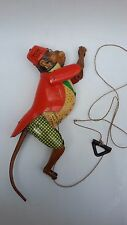 ANTIQUE 30's RARE OLD GERMAN FRICTION TOY TIN CLIMBING MONKEY TOM 700 LEHMANN