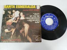 "SANTA ESMERALDA & LEROY GOMEZ DON´T LET ME MISUNDERSTOOD SINGLE 7"" VINYL 1977"