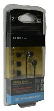 Sennheiser CX400-II With Deep Bass Volume Control In-Ear Headphones - Black