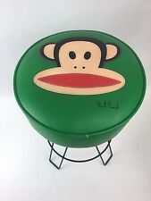 Rare Paul Frank Bar Stool Vintage Hairpin Legs GREEN Julius Monkey VTG Retro