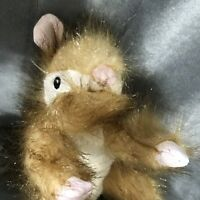 Simulation Squirrel Toy Plush Realistic Life Soft Squirrel Doll Dog Easter Gift