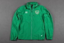 REPUBLIC OF IRELAND TRAINING FOOTBALL JACKET UMBRO SIZE M ADULT
