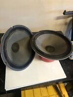 """vintage speakers 12"""" Pair 4 Ohm. Tested And Works Perfect!"""