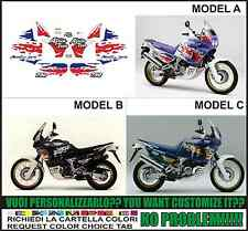 kit adesivi stickers compatibili africa twin 750 rd 07 1993