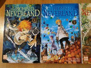 manga the promised neverland tomes 8 à 11