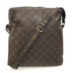 100% Authentic Louis Vuitton Monogram Marceau SHOULDER BAG M40264 USED {05-0079}