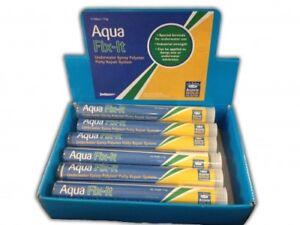 Aqua Fix-It Underwater Putty Repair System fix leak pools spas boats ponds
