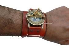 Stempunk Wrist Mans Sundial Compass-Beautiful Steampunk Time Piece