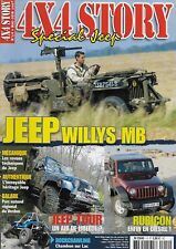 4x4 STORY N° 14 / JEEP WILLYS MB - RUBICON ENFIN EN DIESEL - MECANIQUE
