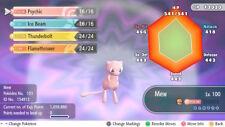 Pokemon Let's Go Event Mew Max 6IV / AV [Fast Delivery] Original Owner