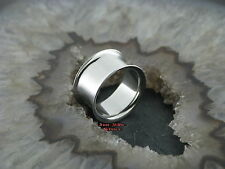 STEEL Flared tubes 16mm Tunnel Piercing Orecchino Acciaio