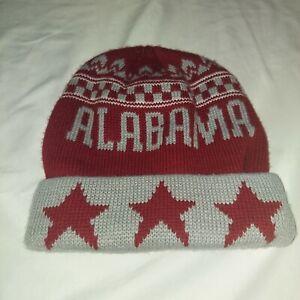NCAA University of Alabama Beanie OSFA Crimson Tide Roll Tide Hat Snowhat