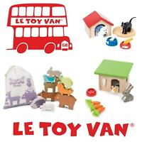 Le Toy Van Pretend Play Educational Wooden Children Toys Animals Stack Dog Cat